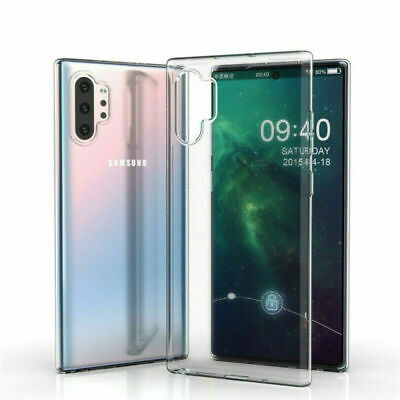 For Samsung Galaxy Note 10 Plus S10 S9 S8 S7 Cover Crystal Ultra Thin Clear Case