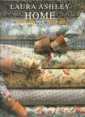 Laura Ashley Home, 1994 Catalogue - Furnishings, Decor, Fabrics, Lighting