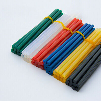 10x 7mm Adhesive Hot Melt Glue Sticks For Trigger Electric Gun Hobby Craft Tool