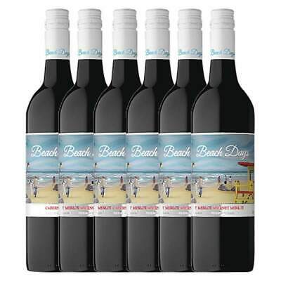 New Beach Days Cabernet Merlot 750ml - 6 Pack