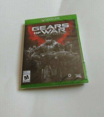 Gears of War Ultimate Edition (Microsoft Xbox One, 2016) BRAND NEW MICRSOFT XB1