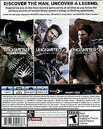 Uncharted: The Nathan Drake Collection (Sony PlayStation 4, 2015) COMPLETE PS4