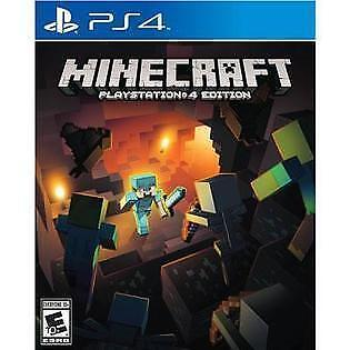 Minecraft -- PlayStation 4 Edition (Sony PlayStation 4, 2014) COMPLETE FAST XB1