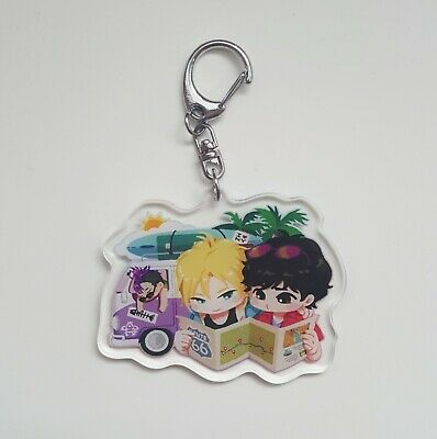 Banana Fish Acrylic Charm Lost Boys by artist Blacknorinori
