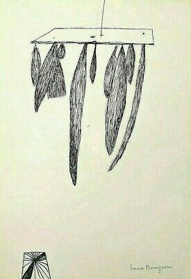 LOUISE BOURGEOIS - Sheaves (1985) - LITHOGRAPHIE RARE