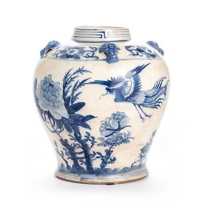 Blue and White Chinese Jar for the Philippine Market