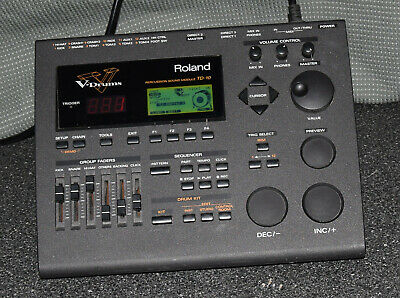 Roland Td-10 V Drum Percussion Sound Module