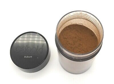 Auburn Hair Loss Concealer Hair Fibers Caboki  30g in old version.