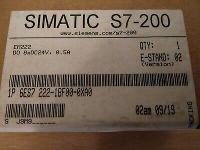 Siemens Simatic S7-200 Digital OUT,6ES7 222-1BF00-0XA0  E-Stand:02