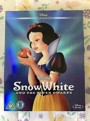 Snow White And The Seven Dwarfs Blu Ray & Slipcase