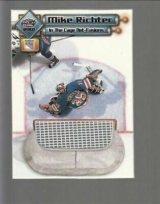 2000-01 Pacific In the Cage Net-Fusions #8 Mike Richter