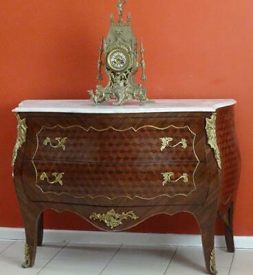 Antique French Louis XV Chest of Drawers Sideboard Console Side Hall TV Table