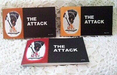 Jack Chick Tract The Attack 1985  Vintage Comic Christian Gospel Mint You Choose