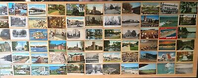 Big Collection of 114 Antique & Vintage Postcards ALL NEW JERSEY Various Towns