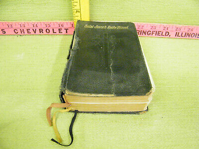 Vintage 1952 St. Joseph Daily Missal Book, Religious-Built in Ribbon Book Marks
