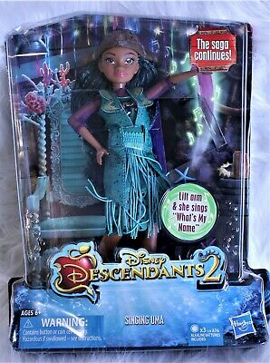 Disney Descendants 2 Singing Uma Doll Batteries Included Toy NEW