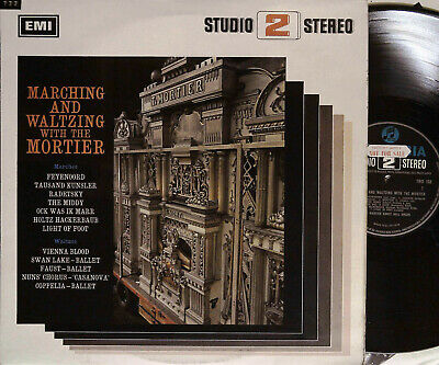 MARCHING & WALTZING WITH THE MORTIER LP Columbia UK 1967 TWO168 1st Sample EX/EX