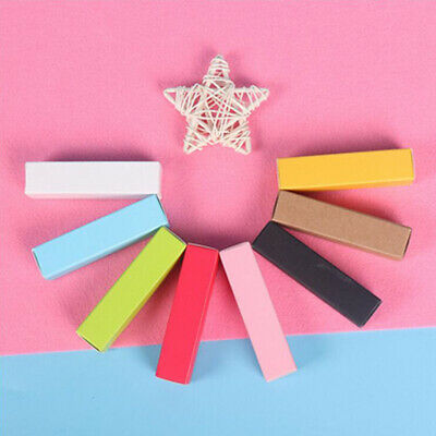 Essential Oil Kraft Paper Boxes Bottle Boxes Cosmetics Lipstick Tube Packaging