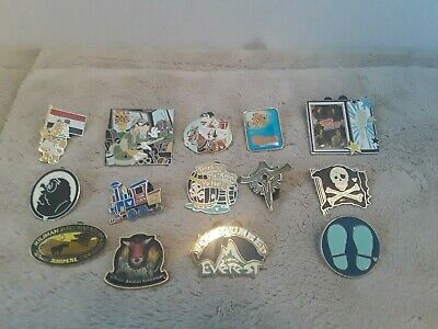 Lot of 14 assorted pins Disney Parks Pin Trading ~ Hidden Mickeys ~ Cast ~ LE