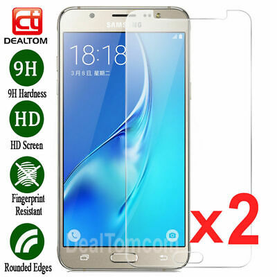 2PCS Premium Tempered Glass Screen Protector Film For Samsung Galaxy