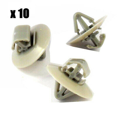 10x Moulding Lower Door Mounting Clips for Audi A4 Avant New