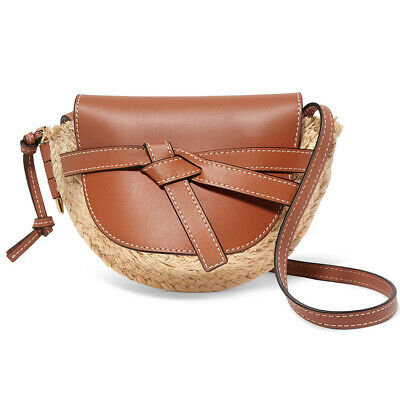 Straw Crossbody Bag Womens Rattan Woven Handbag Straw Shoulder Bag For Travel