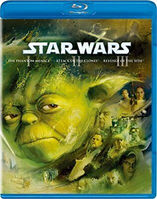 BD Star Wars Prequel Trilogy Bluray Collection F/S