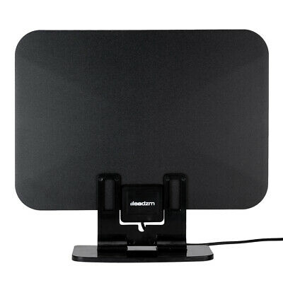 Indoor Digital TV Antenna HD 1080P Signal Booster Amplifier HDTV Up to 90 Miles