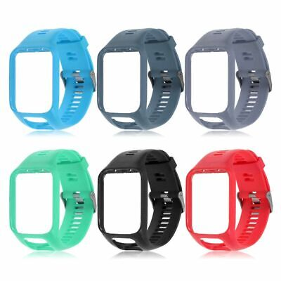 Replacement Silicone Band Straps for TomTom Runner 2/3 Spark/3 Sport GPS WatchCU