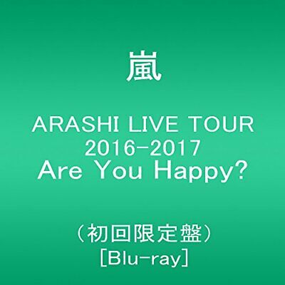 Neuf Arashi Live Tour 2016-2017 Are You Happy? (Édition Limitée) [Bl Japon