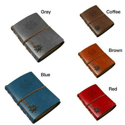 Pirate Style Vintage Retro Travel Leather CoverNotepad Notebook Diary Journal
