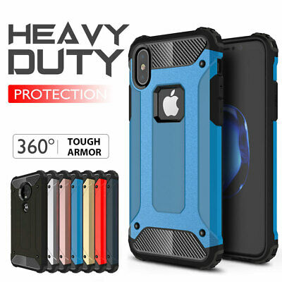 Apple iPhone 5s SE 6 6s 7 8 Plus X Xs Max XR 11 Pro Case,Rugged Heavy Duty Cover