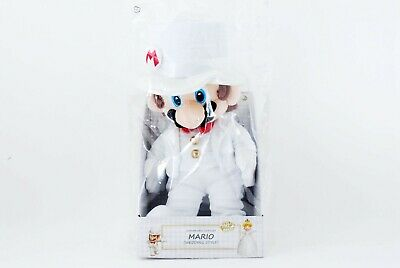 Super MARIO Odyssey Plush Stuffed Toy Doll MARIO Wedding Style 38cm New F/S