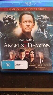 Angels And Demons  Blu-ray, 2009  NEW AND UNSEALED  Tom Hanks REGION FREE