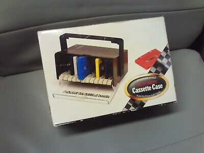 Motorists/Car Cassette/Tape Case Vintage/Retro 1970s/80s Unused/Boxed BHS ICE