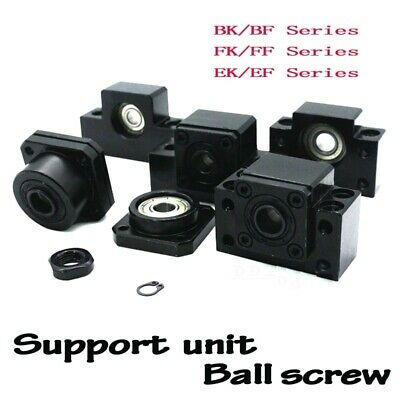 BK12 BF12 Ball Screw End Support For SFU1605 SFU1204 Ballscrew Supports Grinding