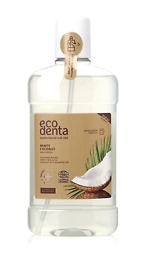 Ecodenta bioactive minty Coconut mouthwash + Aloe Vera + Peppermint oil 500ml