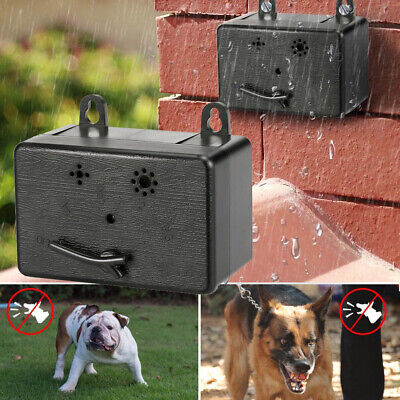Waterproof Ultrasonic Anti-Barking Device Dog Bark Control Sonic Silencer Tools