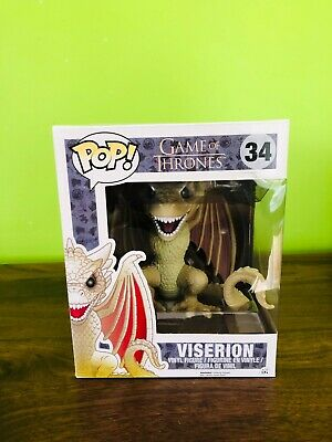 Funko POP! Game of Thrones #34 Vision dragon 6 inch figure new