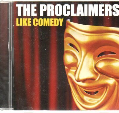 The Proclaimers ‎– Like Comedy, 2012 cooking vinyl 12 track album,  New/Sealed