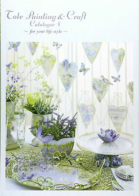 Tall Painting & Craft Catalog #04 Book USED F/S