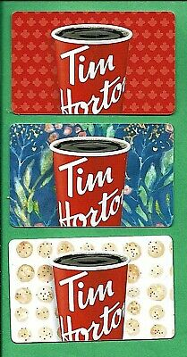 Tim Hortons  2019 Coffee Cup Gift Cards
