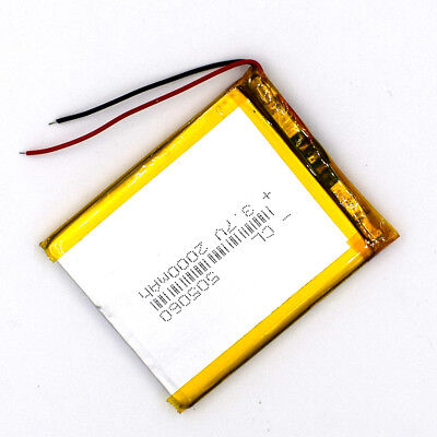 3.7 V 2000mAh 505060 LiPolymer Rechargeable Battery Li Po Cell for GPS Bluetooth