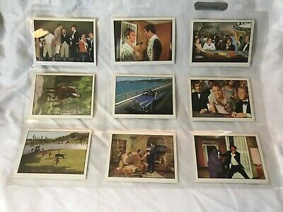 1969 Trade Card Set - Anglo Confectionery - New James Bond 007