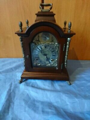 A Beautiful Vintage Dutch Chiming Mantel Clock