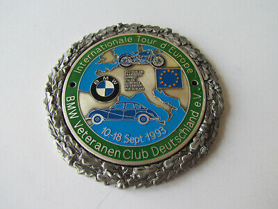 BMW Tour d'Europe 1993 - AUTOPLAKETTE PLAKETTE BADGE PLAQUE PLACCA