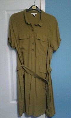 Ladies size euro 46 shirt dress by H and M New