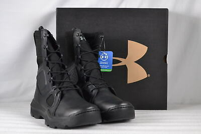 a0287542a60 UNDER ARMOUR FNP Tactical Side-Zip Boots 1296240 / Black 001 - All ...