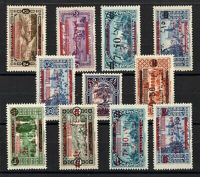 GRAND LIBAN: SERIE COMPLETE DE 11 TIMBRES NEUF* N°111/121 Cote: 63,25 €
