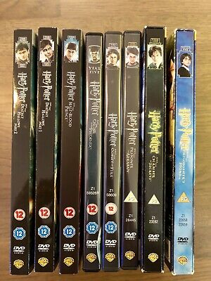 Harry Potter 1-8 Complete 8 Film Collection - DVD BOX SET